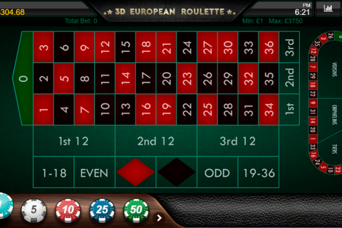 d european roulette iron dog