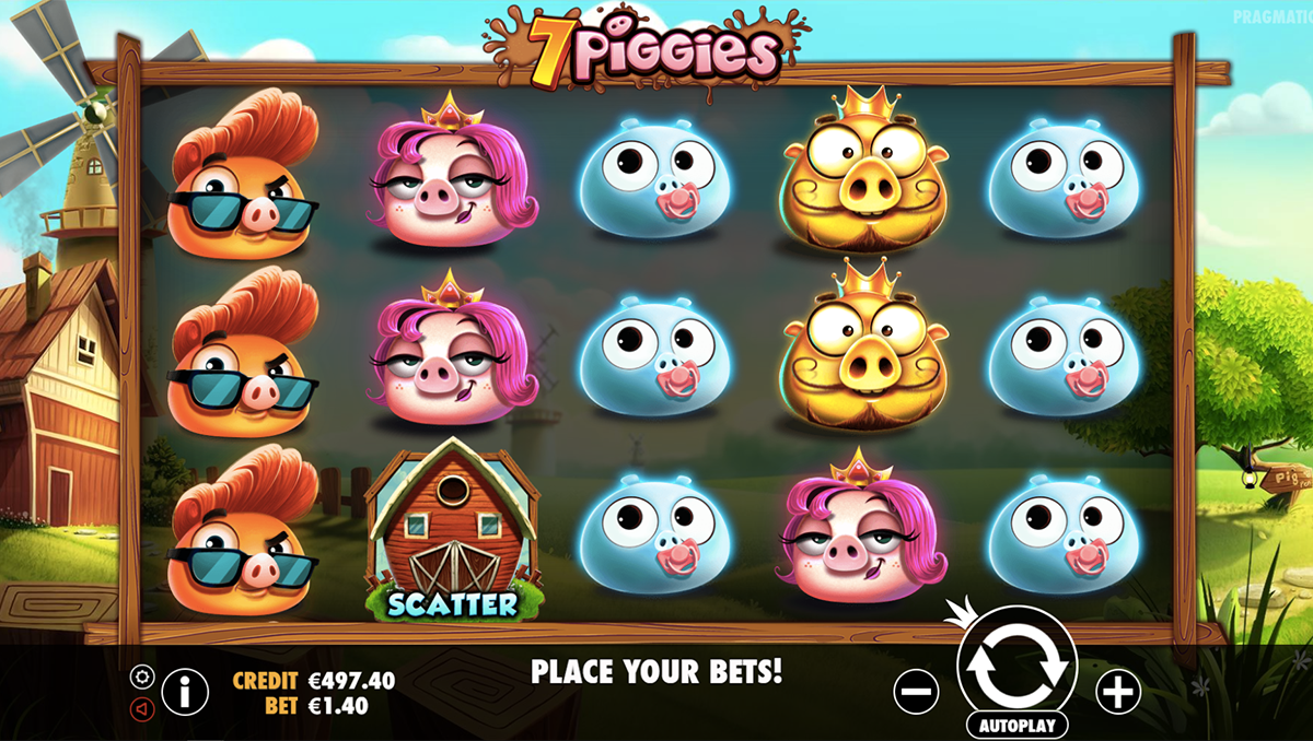 7 piggies pragmatic