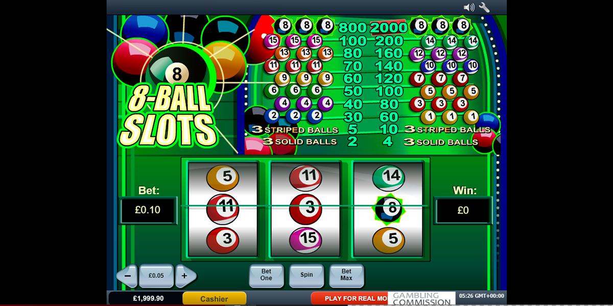 8 ball slots playtech