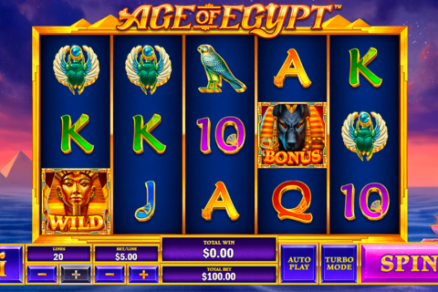 age of egypt playtech