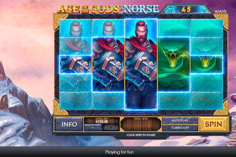 age of the gods norse ways of thunder playtech