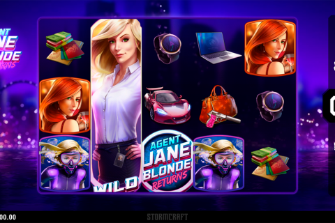 agent jane blonde returns microgaming