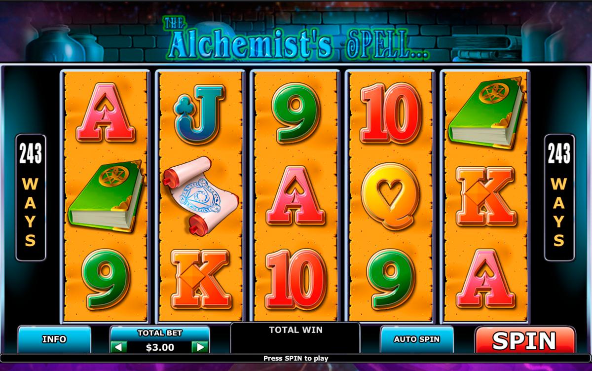 alchemists spell playtech