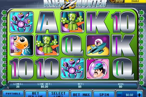 alien hunter playtech