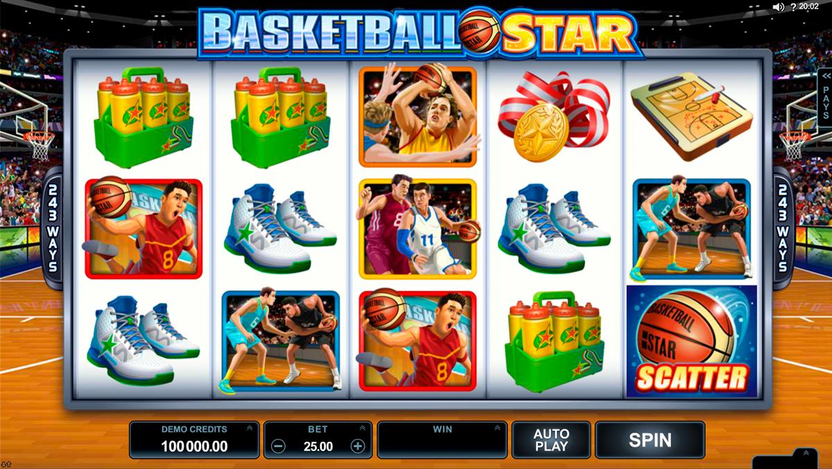 basketball star microgaming