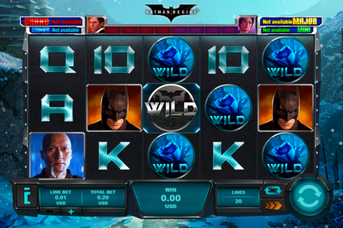 batman begins playtech