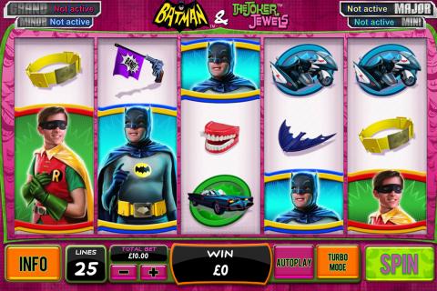 batman the joker jewels playtech