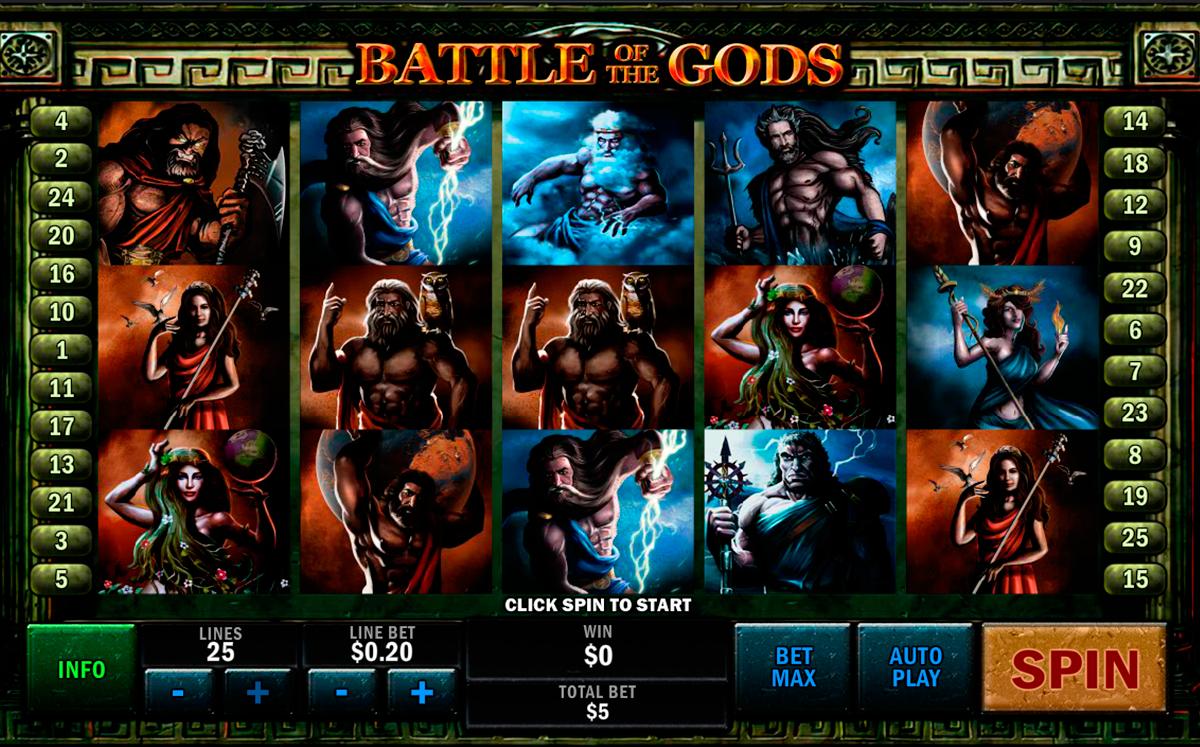 battle of the gods playtech