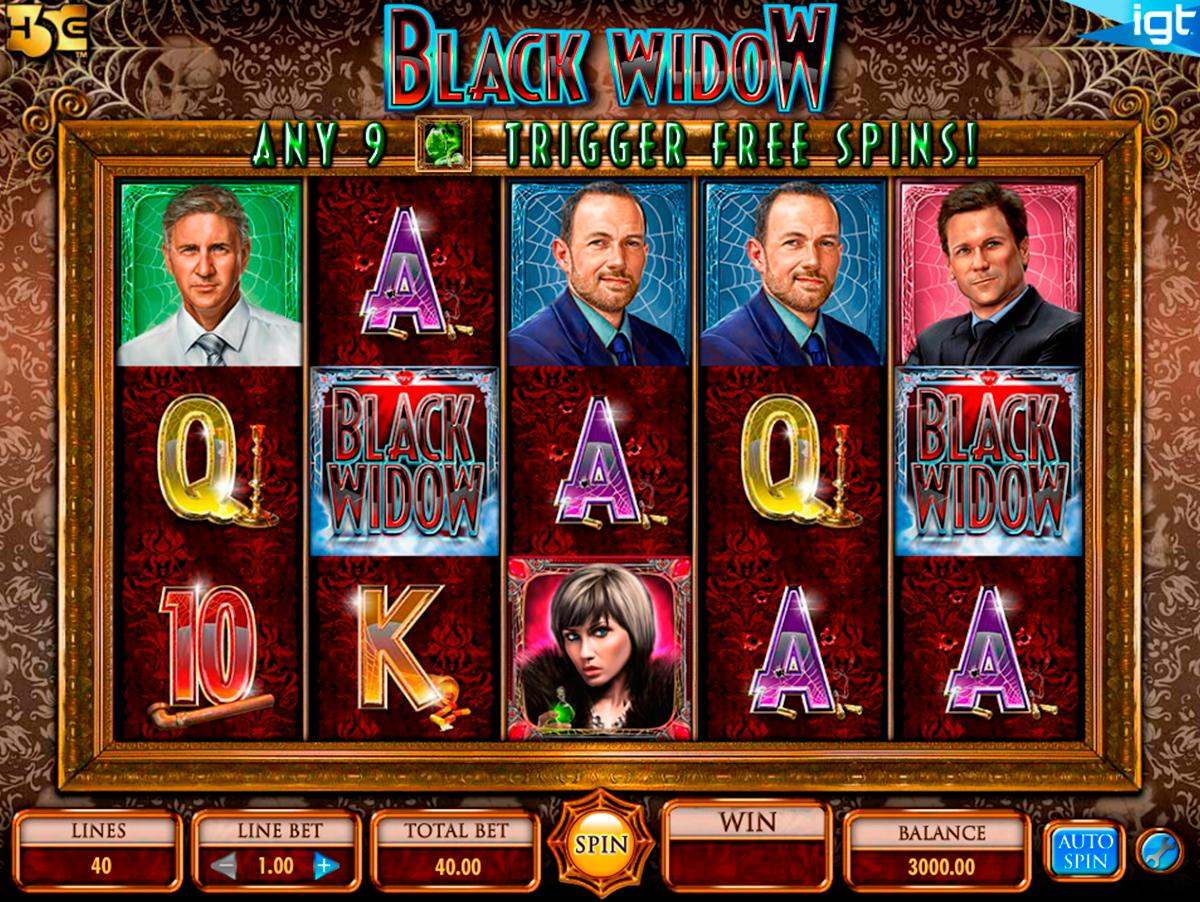 black widow igt