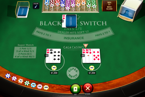 blackjack switch playtech