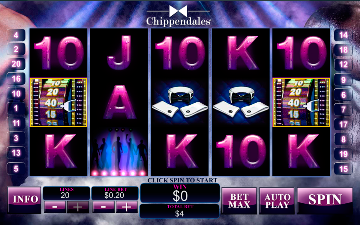chippendales playtech
