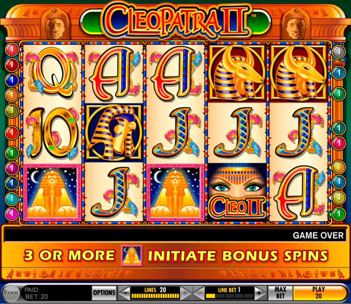 cleopatra ii igt