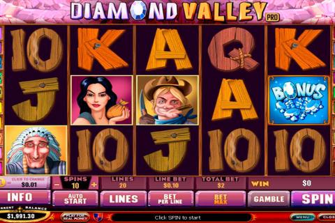 diamond valley playtech
