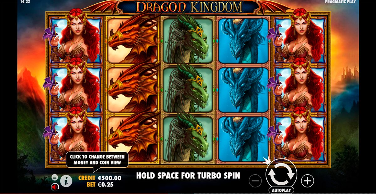 dragon kingdom pragmatic