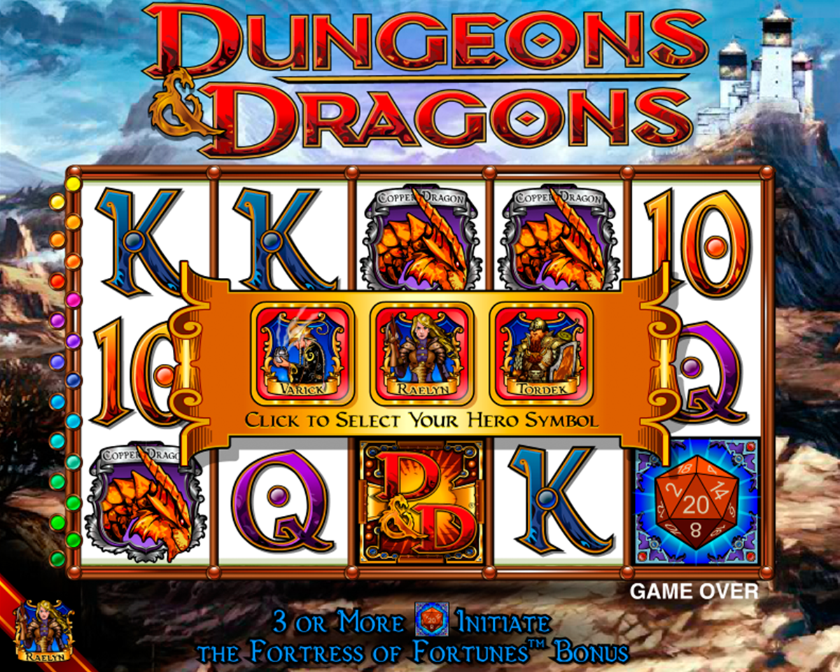 dungeons and dragons igt