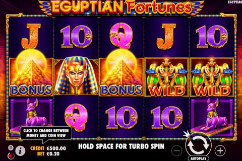 egyptian fortunes pragmatic
