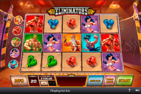 eliminators playtech