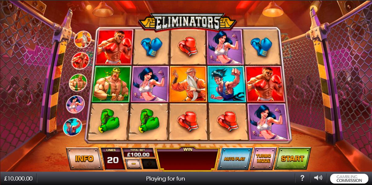 eliminators playtech