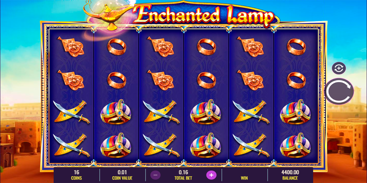 enchanted lamp igt