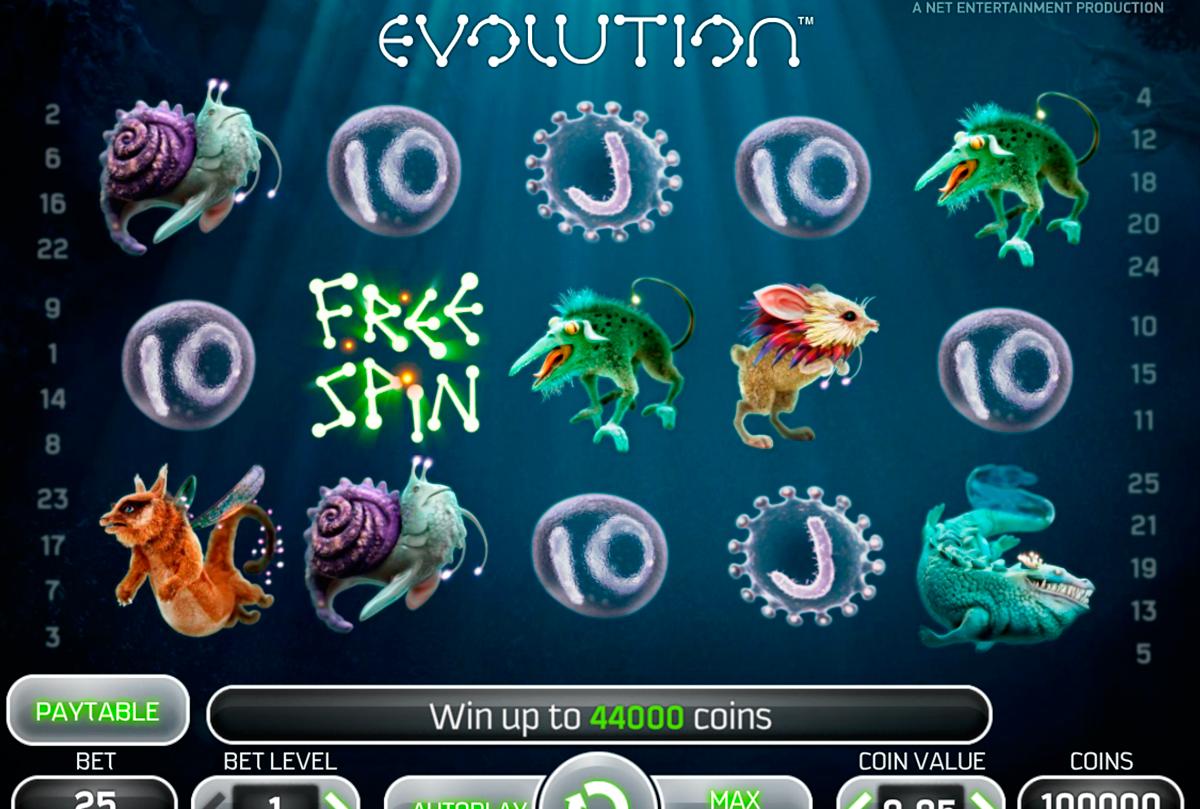 evolution netent