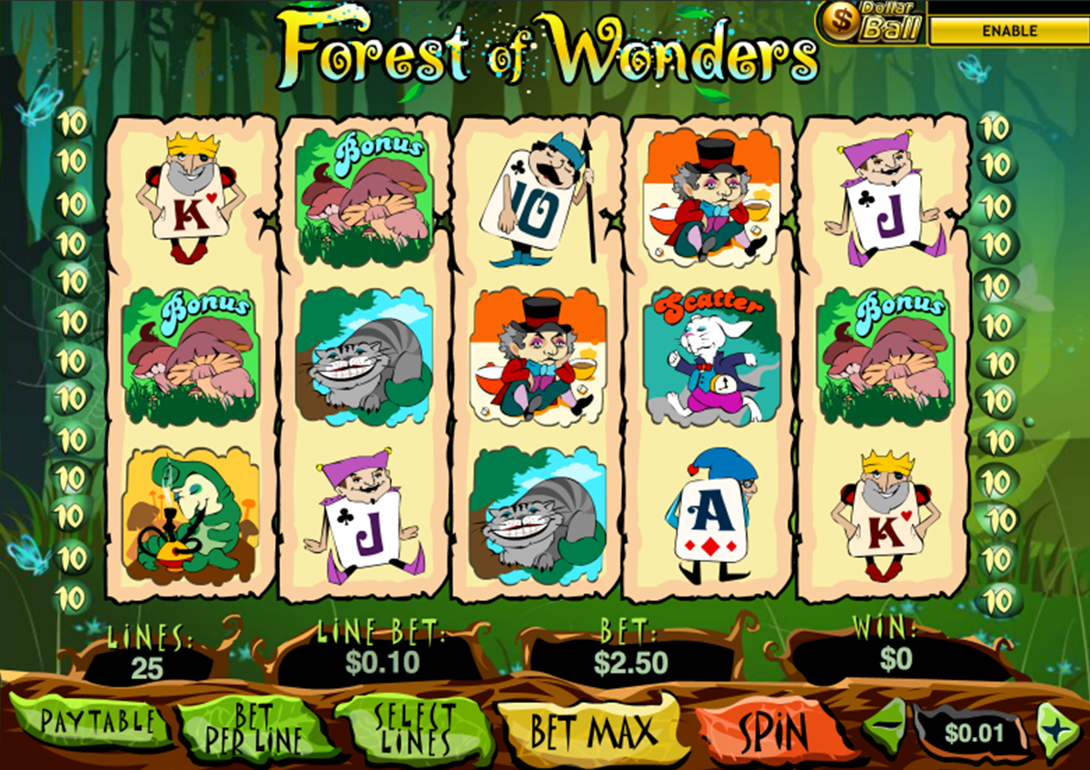 forest of wonder playtech