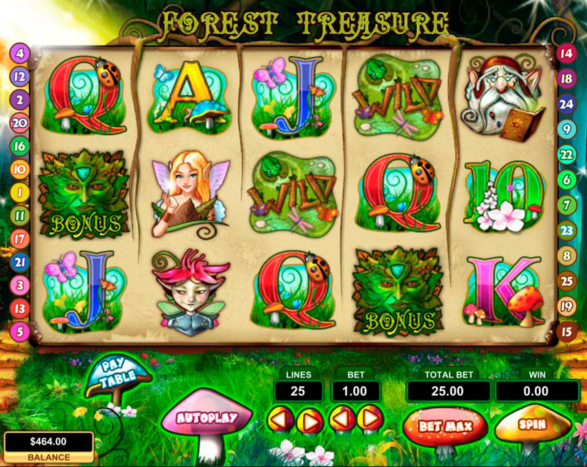forest treasure pragmatic
