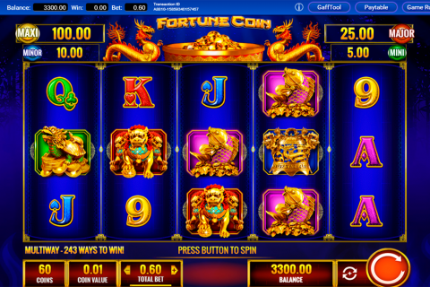 fortune coin igt