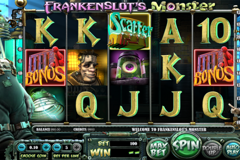 frankenslots monster betsoft