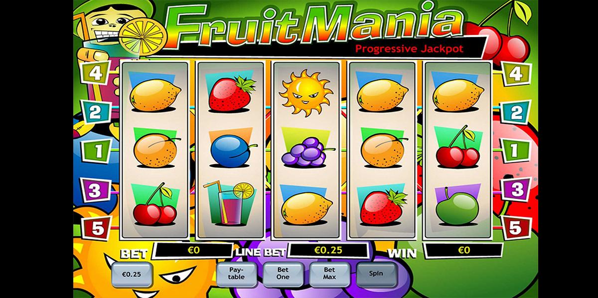 fruit mania playtech