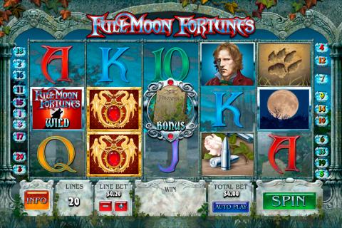 full moon fortunes playtech