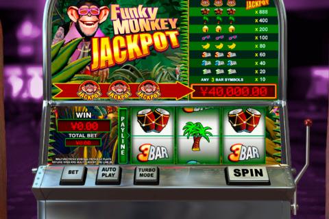 funky monkey jackpot playtech