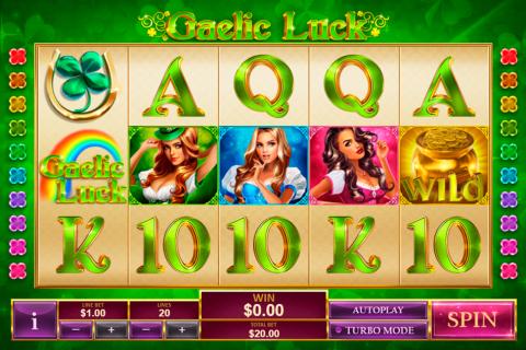 gaelic luck playtech