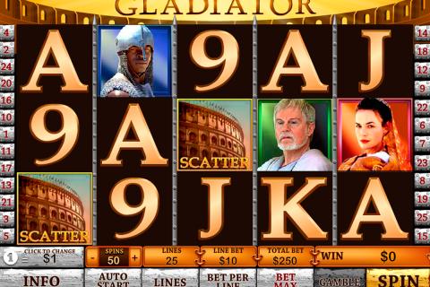 gladiator playtech