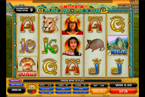 gold of machu picchu microgaming