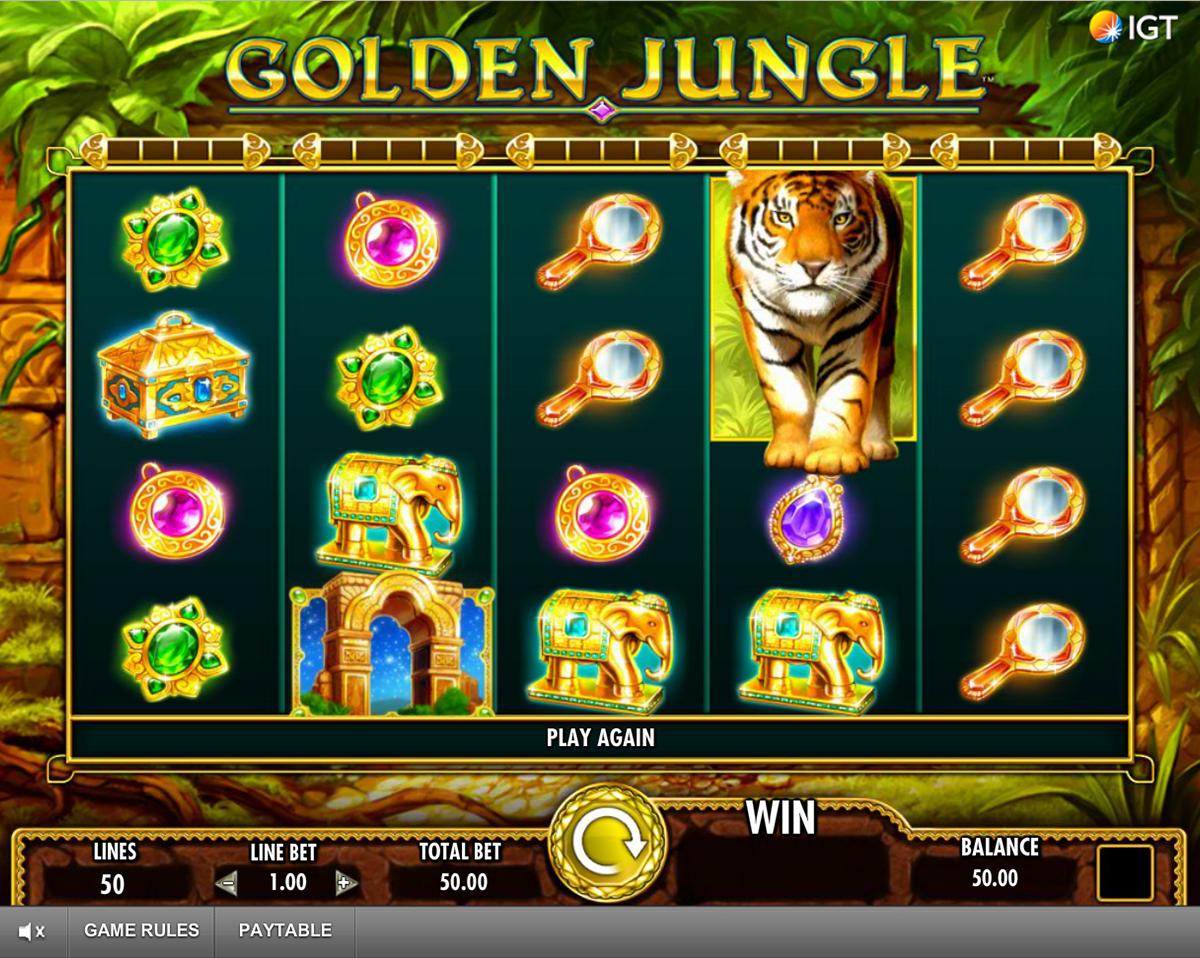 golden jungle igt
