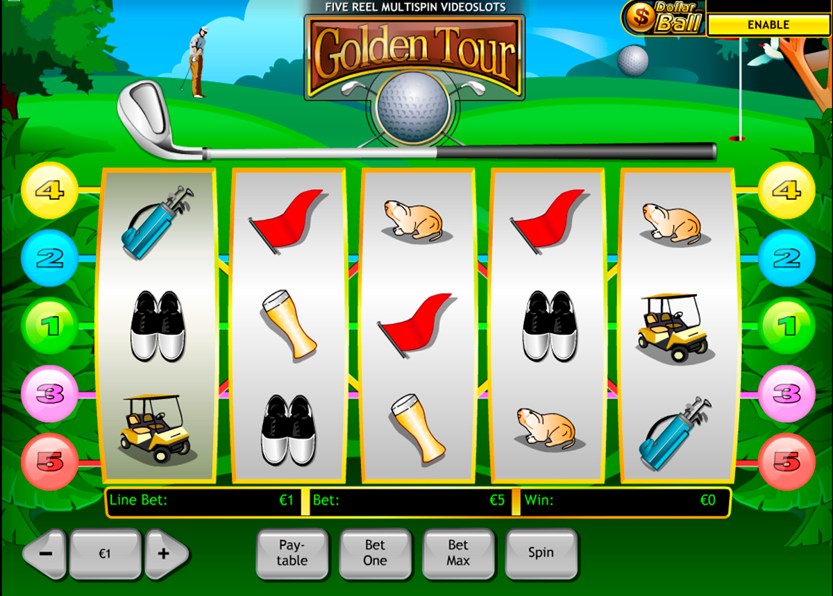 golden tour playtech