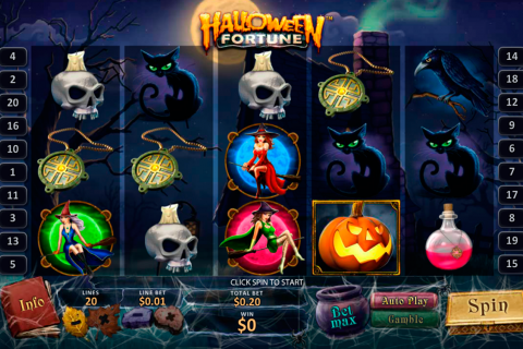 halloween fortune playtech
