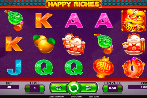 happy riches netent