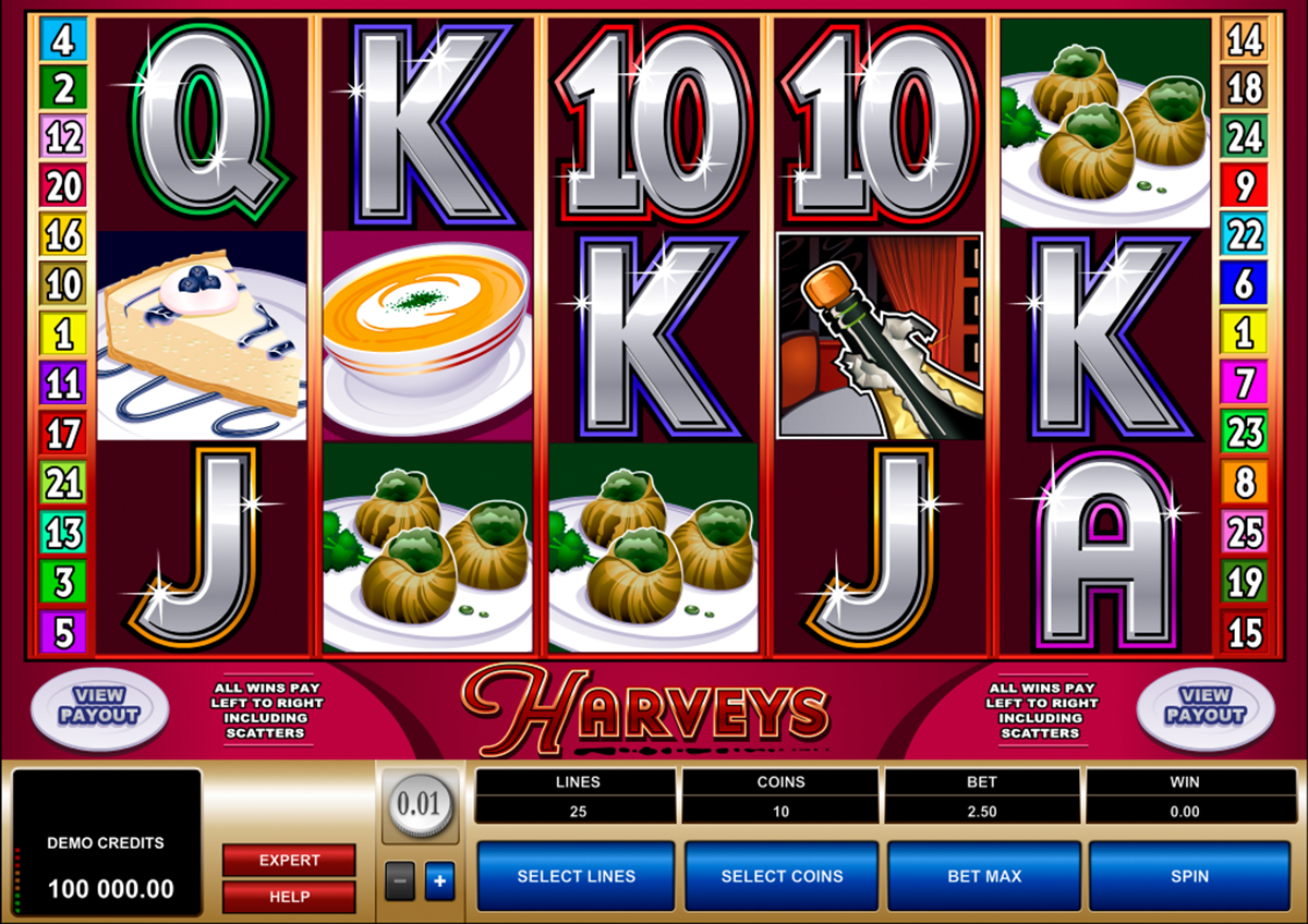 harveys microgaming