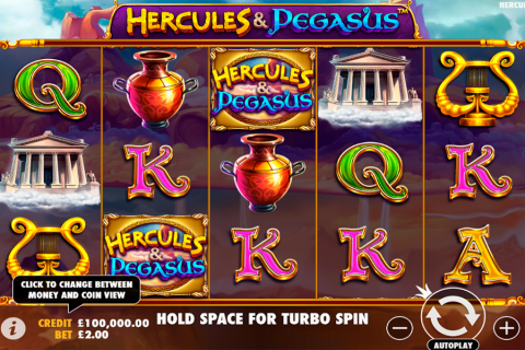 hercules and pegasus pragmatic