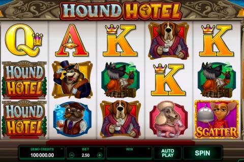 hound hotel microgaming