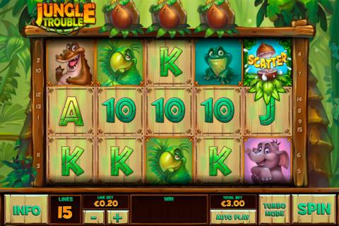 jungle trouble playtech