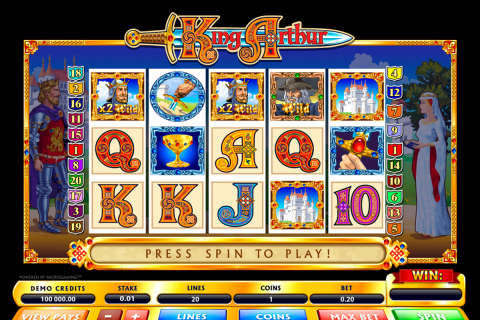king arthur microgaming