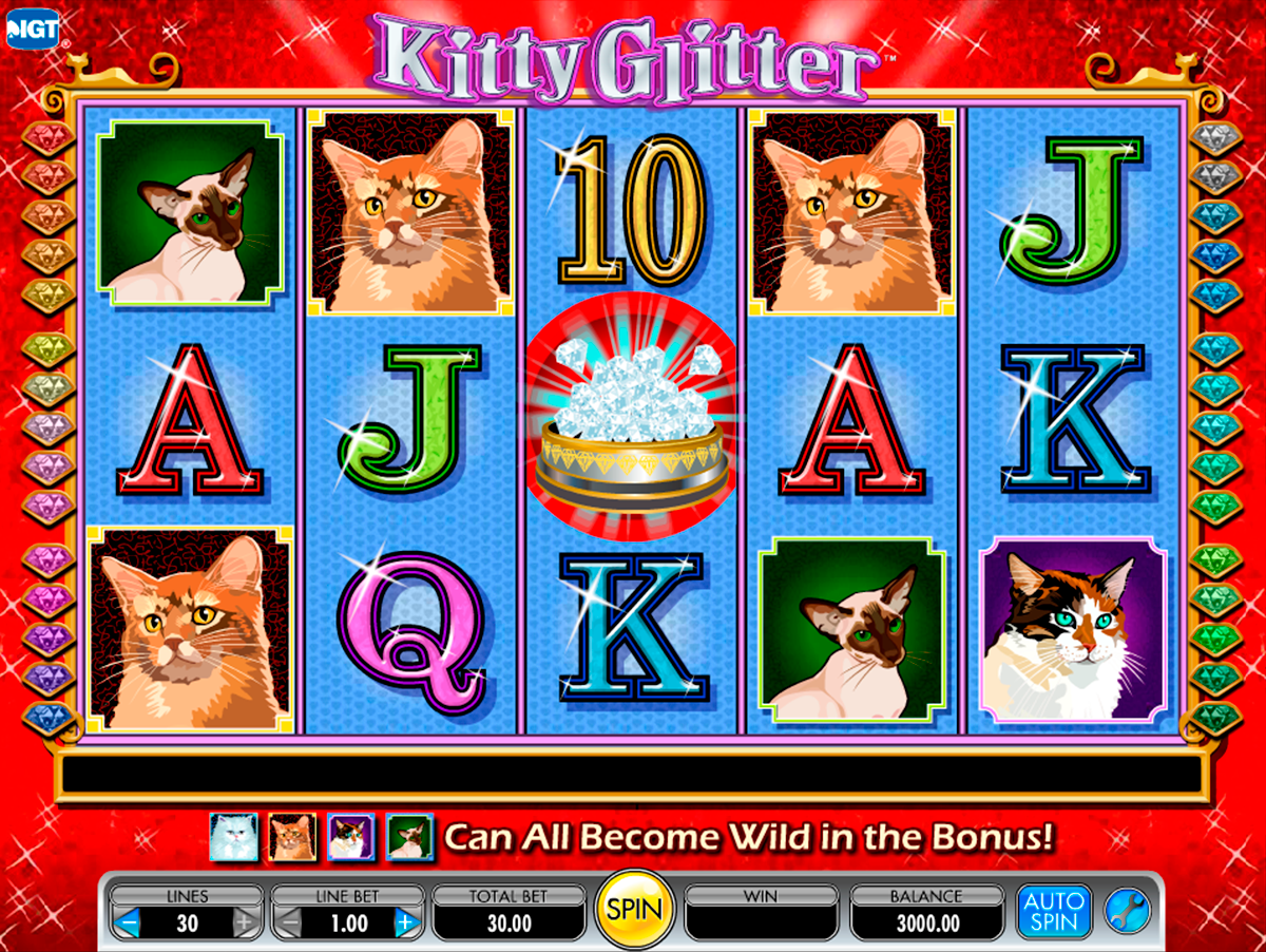 kitty glitter igt