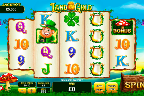 land of gold playtech