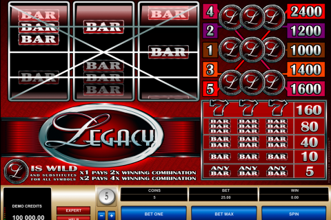 legacy microgaming