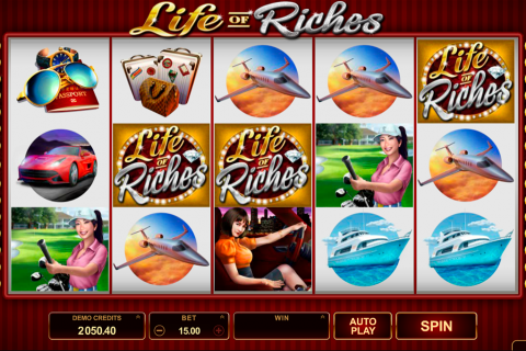 life of riches microgaming