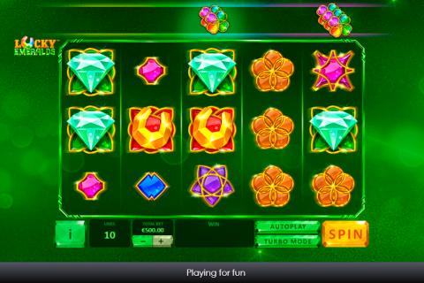 lucky emeralds playtech