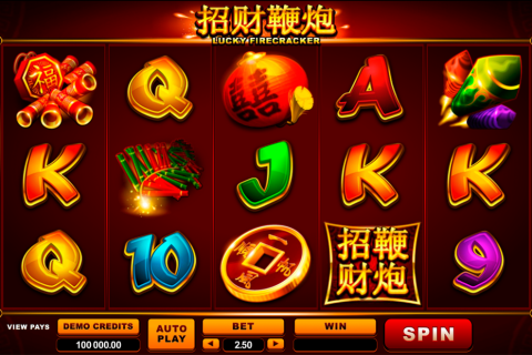 lucky firecracker microgaming