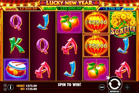 lucky new year pragmatic